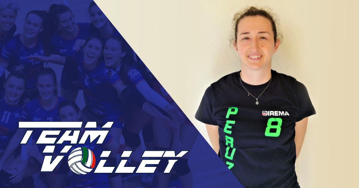 Primo colpo di mercato per il TeamVolley: Arriva Francesca Peruzzo