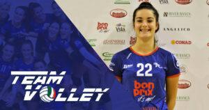 TeamVolley: Riconfermata anche Giorgia Zatta